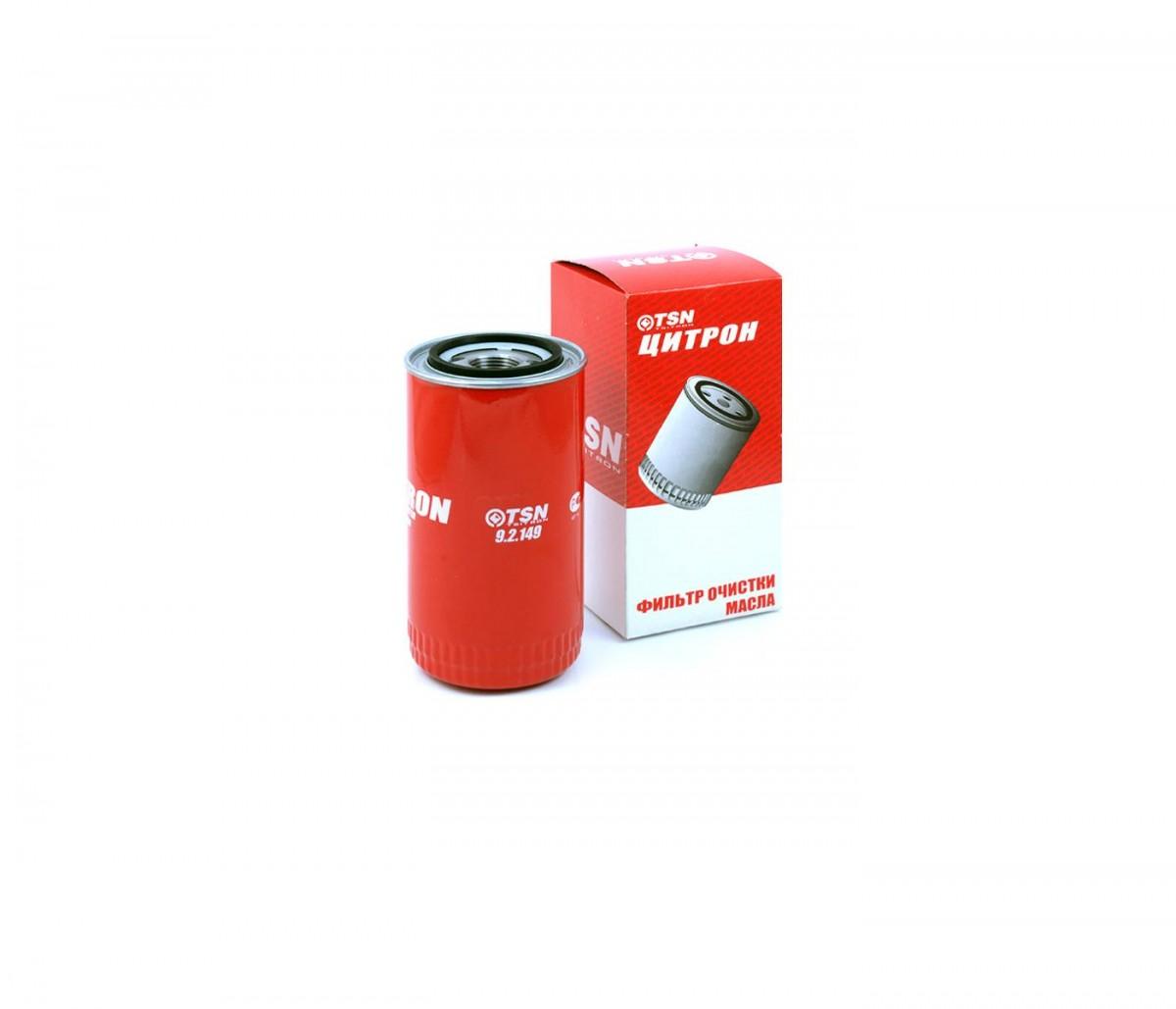 Фильтр масляный КАМАЗ,ПАЗ (дв.CUMMINS ISBe 185,210,300) (аналог WK 950/26) TSN