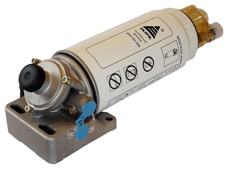 Фильтр топливный КАМАЗ грубой очистки PreLine 420 в сборе (фланец) ЭКОФИЛ