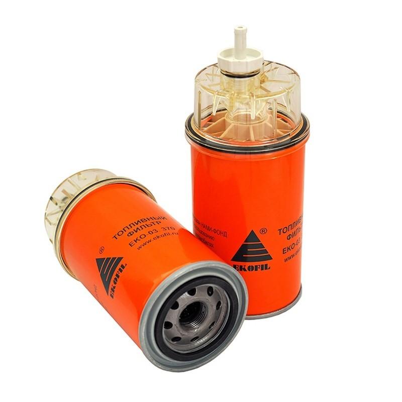Фильтр топливный КАМАЗ,ПАЗ грубой очистки (дв.CUMMINS B5.9-180) (аналог WK 940/36x) сепаратор ЭКОФИЛ