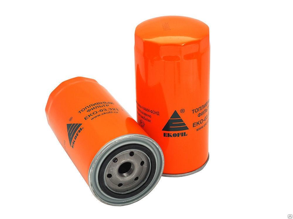 Фильтр топливный КАМАЗ,ПАЗ тонкой очистки (дв.CUMMINS ISBe) (аналог WK 950/21) ЭКОФИЛ