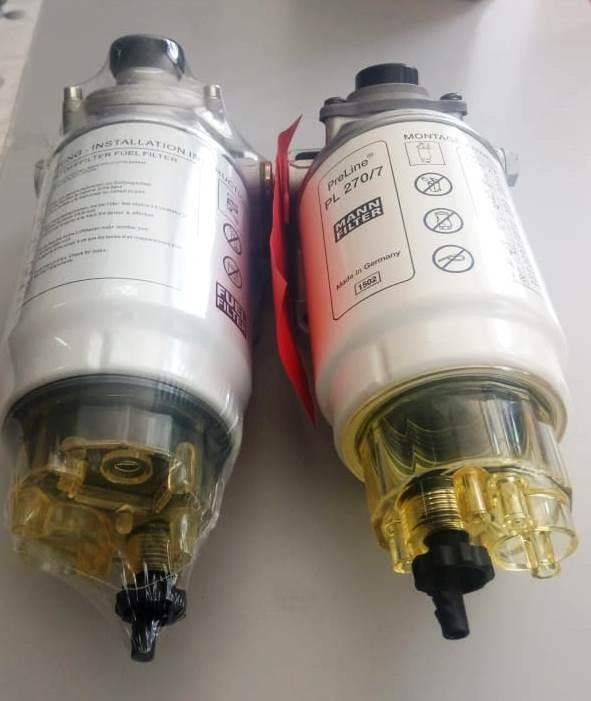 Фильтр топливный КАМАЗ,УРАЛ грубой очистки PreLine 270 в сборе MANN+HUMMEL