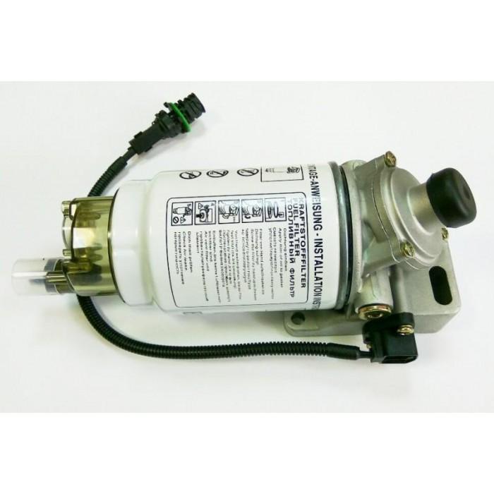 Фильтр топливный КАМАЗ,УРАЛ грубой очистки PreLine 270 с подогревом комплект в сборе MANN+HUMMEL