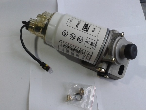 Фильтр топливный КАМАЗ,УРАЛ грубой очистки PreLine 270 с подогревом комплект в сборе СМ