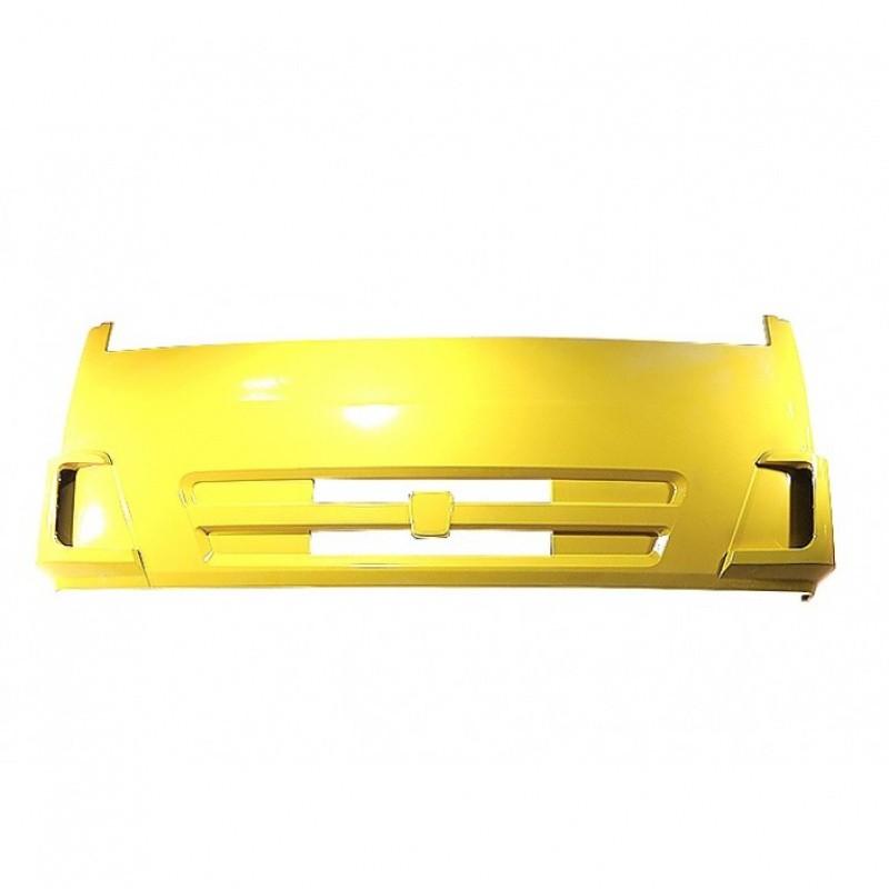 Панель КАМАЗ облицовки радиатора интегральная (рестайлинг) (желтый) ТЕХНОТРОН