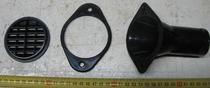 Патрубок КАМАЗ распределителя воздуха подводящий комплект (3 наименования) ТЕХНОТРОН