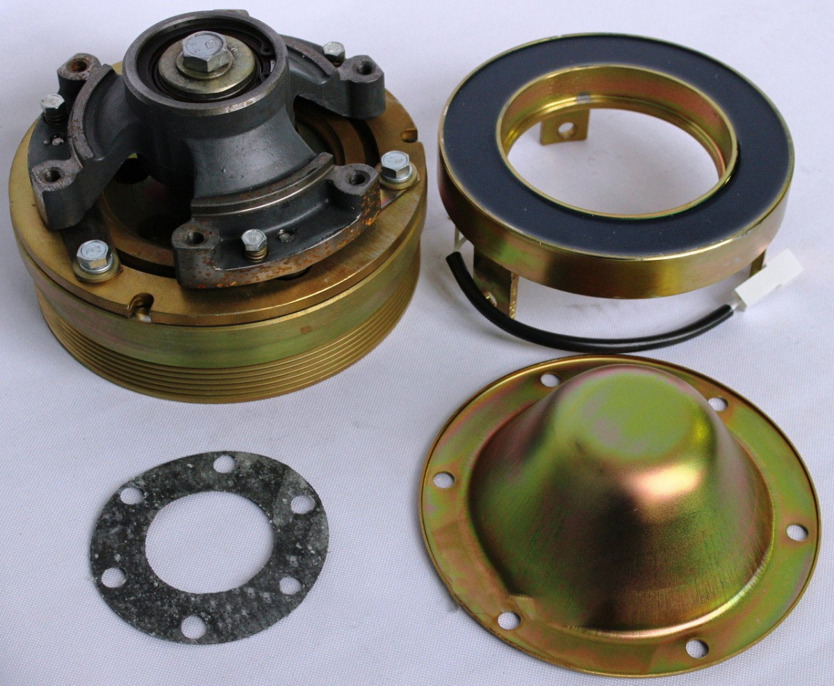 Муфта КАМАЗ-ЕВРО-2 электромагн. вентилятора (дв.740.30,31,50,51) (07-) с кондиционером ТЕХНОТРОН