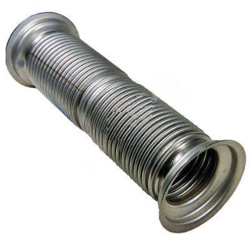 Металлорукав КАМАЗ-6520 в сборе L=364мм, D=80мм (нержавеющая сталь) МЕТАЛЛОКОМПЕНСАТОР