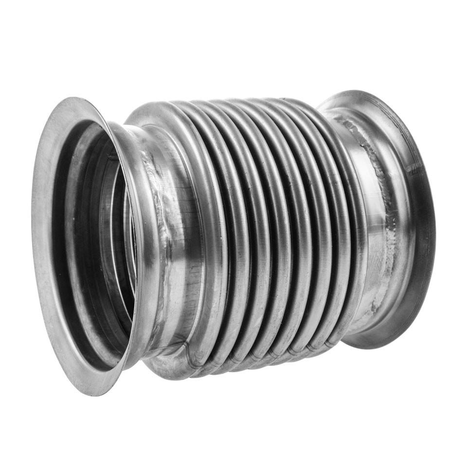 Металлорукав КАМАЗ-ЕВРО-4,5 L=160мм, D=115мм (выхлоп вверх) (нержавеющая сталь) МЕТАЛЛОКОМПЕНСАТОР