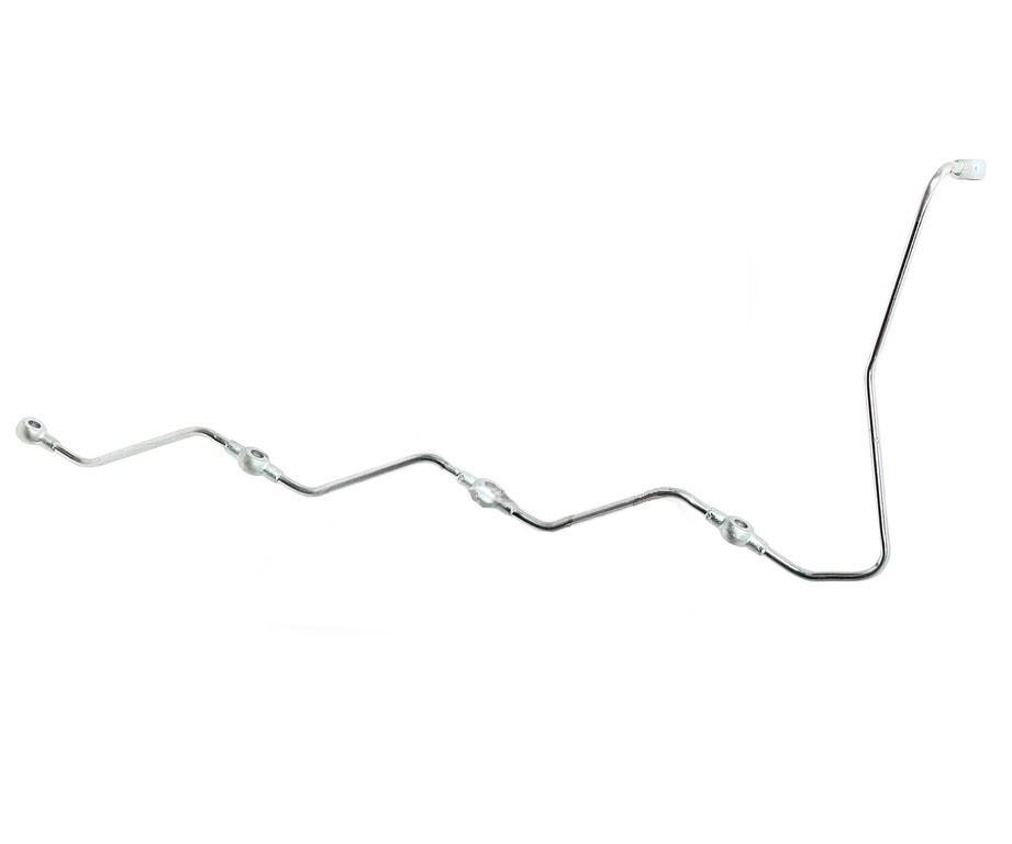 Трубка топливная КАМАЗ-ЕВРО-3 дренажная форсунок левая (ОАО КАМАЗ)