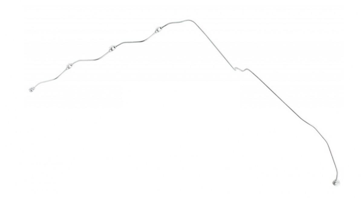 Трубка топливная КАМАЗ-ЕВРО-3 дренажная форсунок правая (ОАО КАМАЗ)