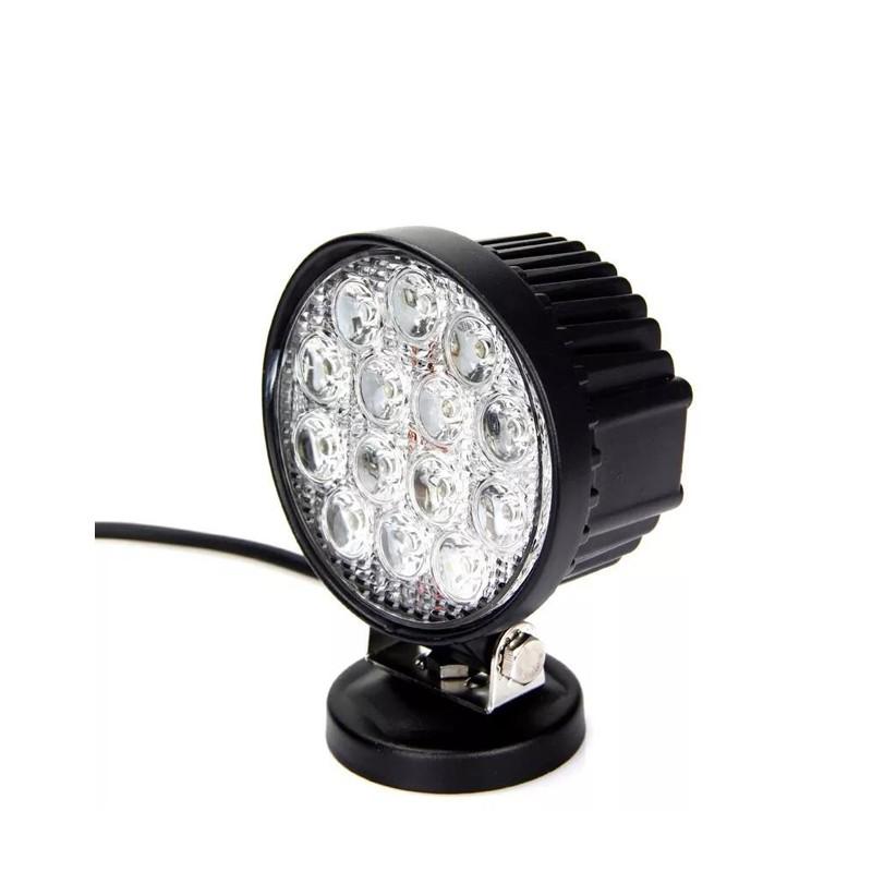 Фара рабочего света круглая 42Вт 120х120мм LED LT