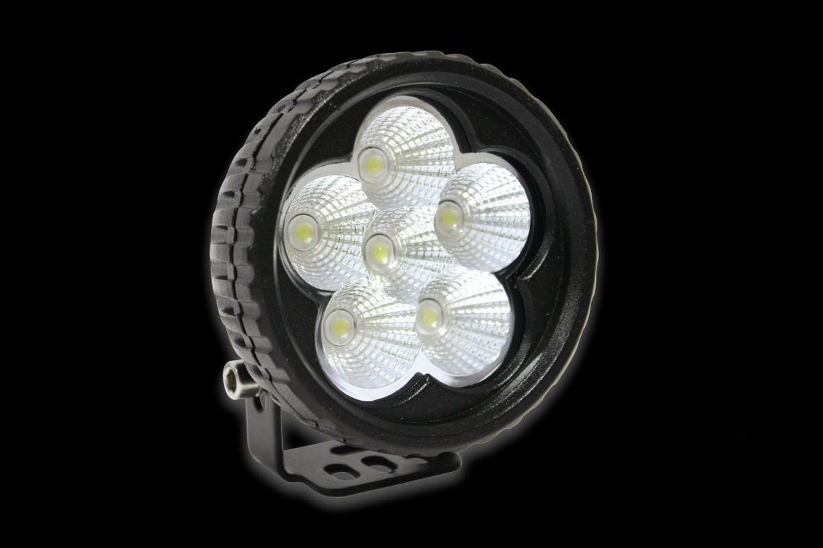 Фара рабочего света круглая 88х88мм LED BULLBOY