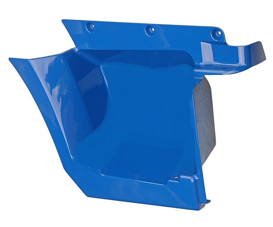 Щиток КАМАЗ-4308,5308 подножки левый (рестайлинг) (синий) ОАО РИАТ