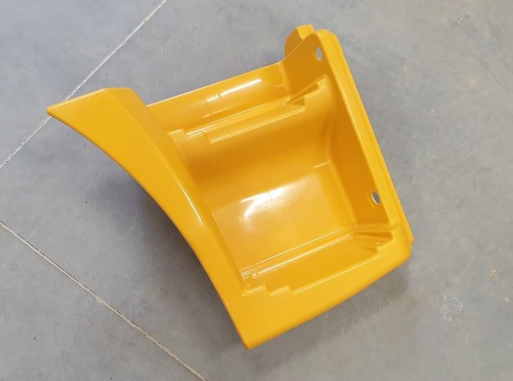 Щиток КАМАЗ-65115 подножки правый (рестайлинг) (желтый) ТЕХНОТРОН