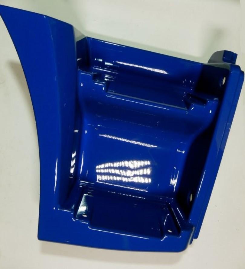 Щиток КАМАЗ-65115 подножки правый (рестайлинг) (синий) ТЕХНОТРОН