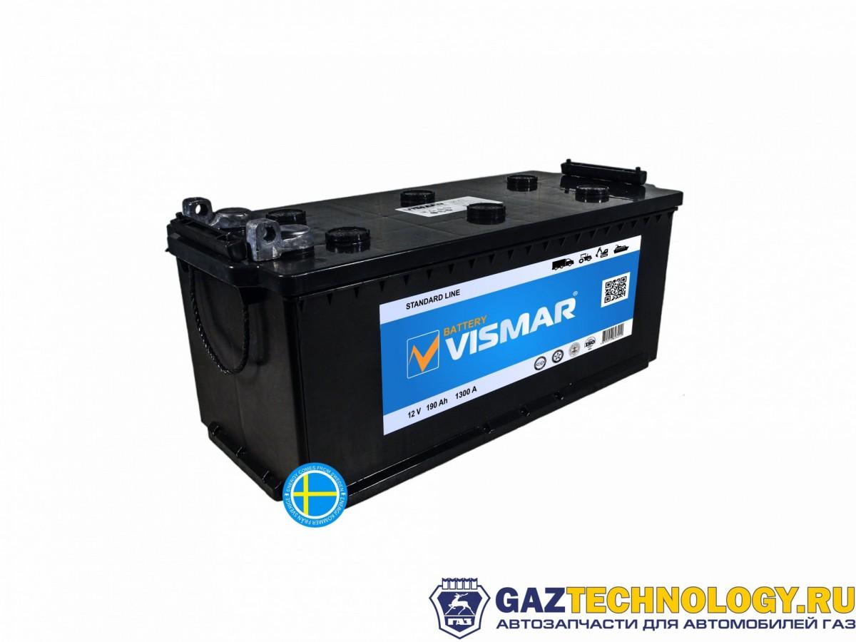 VISMAR STANDART 6СТ-190 N (R+)-(4) 1300A 516*223*223