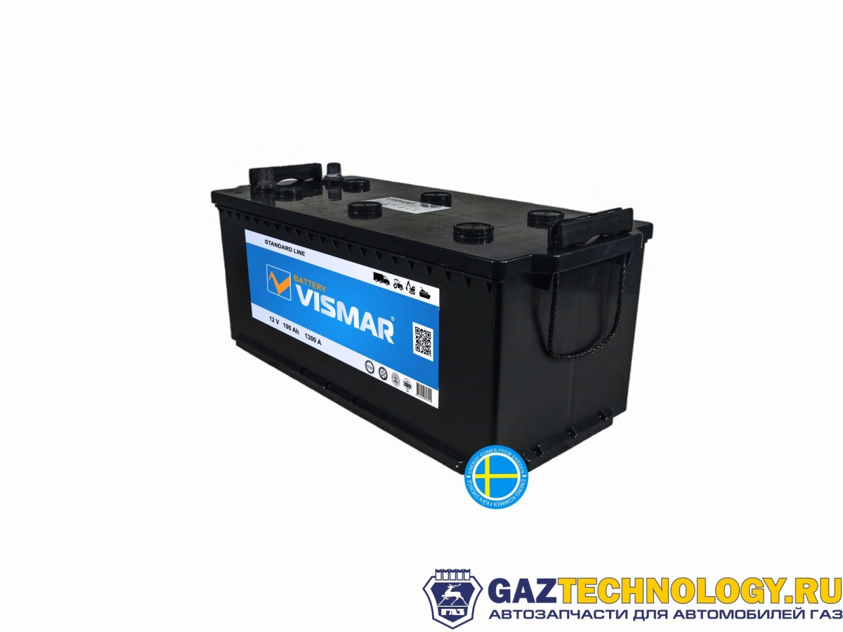 VISMAR STANDART 6СТ-190 N (L+)-(3) 1300A 516*223*223