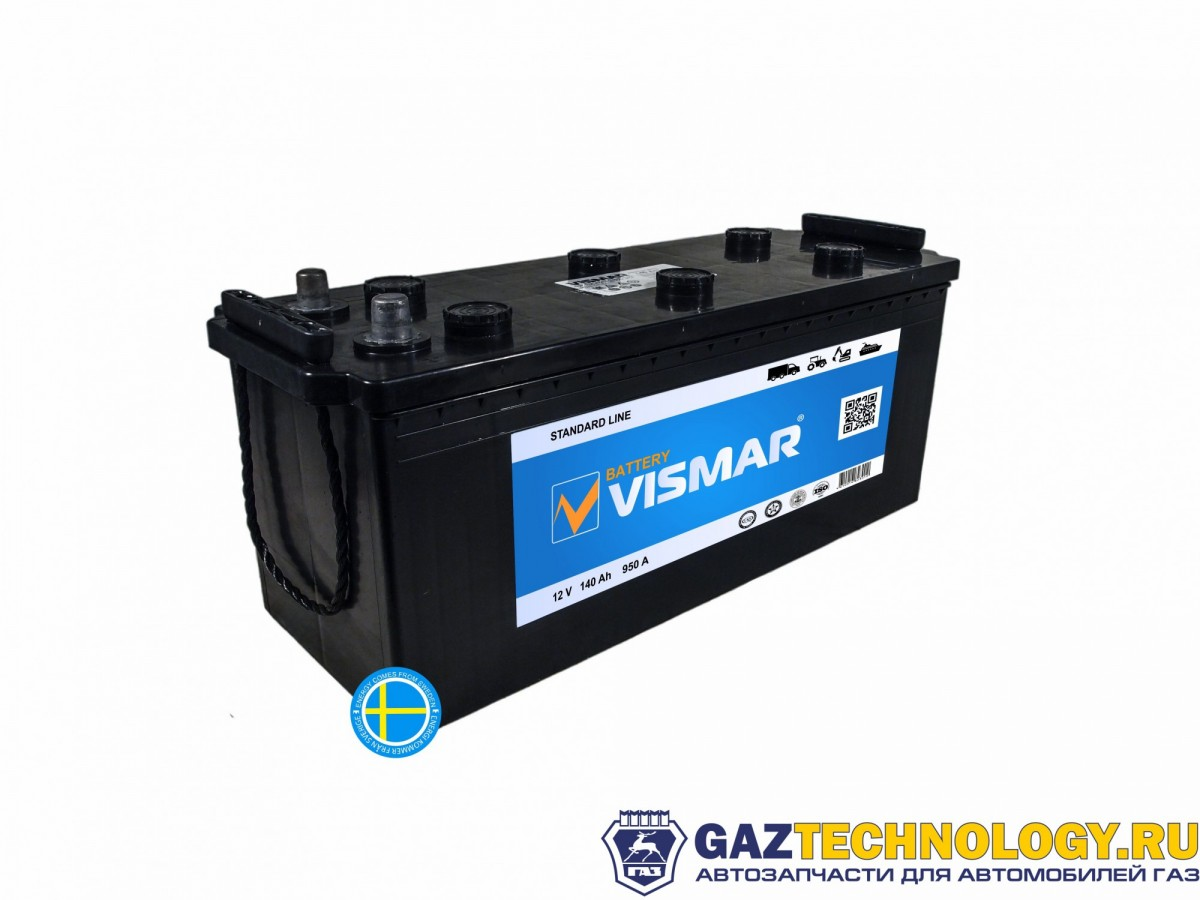 VISMAR STANDART 6СТ-140 N (L+)-(3) 950A 513*189*223